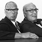 Pause & Alich als Fritz und Hermann