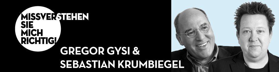 Gregor Gysi & Sebastian Krumbiegel