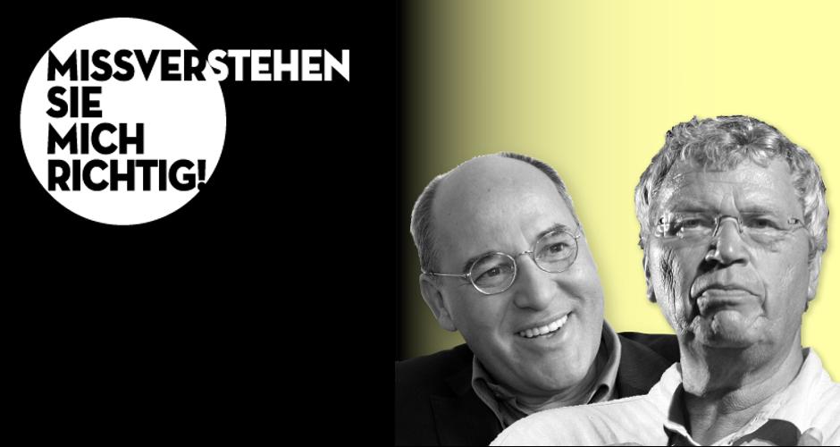Gregor Gysi & Gerhard Polt