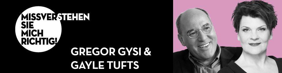 Gregor Gysi & Gayle Tufts