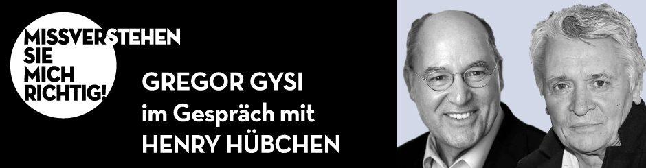 Gregor Gysi & Henry Hübchen
