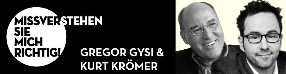 Gregor Gysi & Kurt Krömer