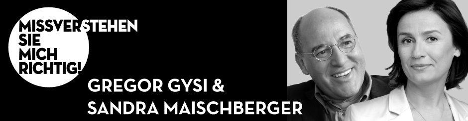 Gregor Gysi & Sandra Maischberger