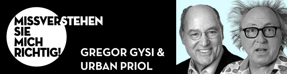 Gregor Gysi & Urban Priol
