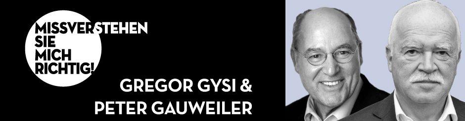 Gregor Gysi & Peter Gauweiler