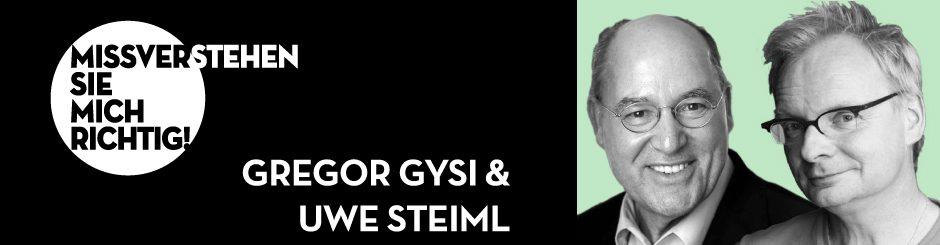 Gregor Gysi & Uwe Steimle
