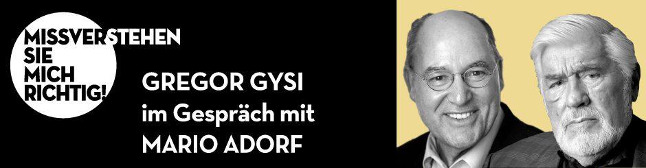 Gregor Gysi & Mario Adorf