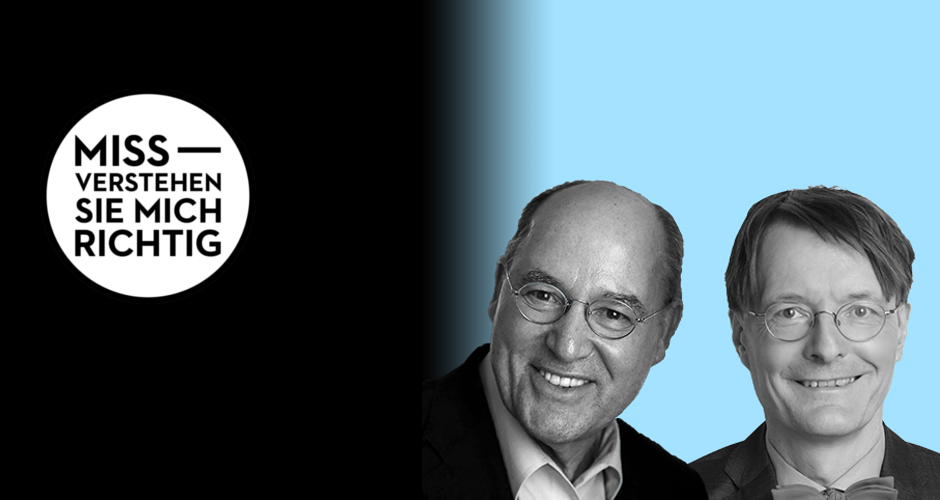 Gregor Gysi & Prof. Dr. Karl Lauterbach