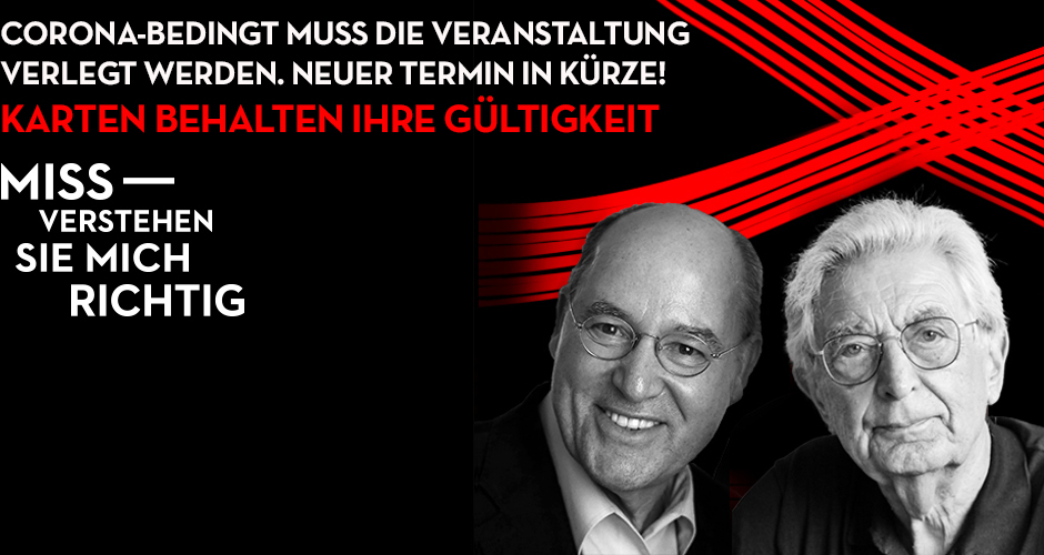 Gregor Gysi & Gerhart Baum